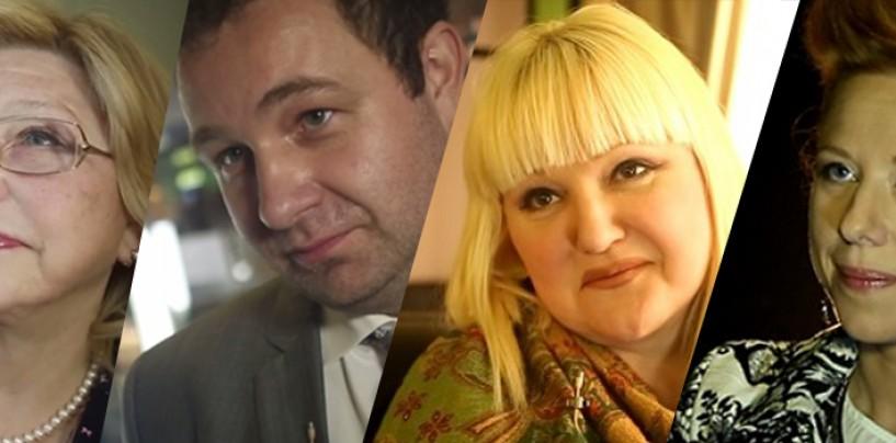 Едим дома с Лужковым? — известные люди о сети фаст-фуда Михалковых-Кончаловских