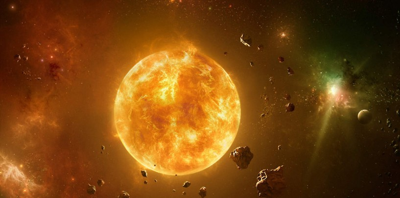 Солнце атакуют инопланетяне?