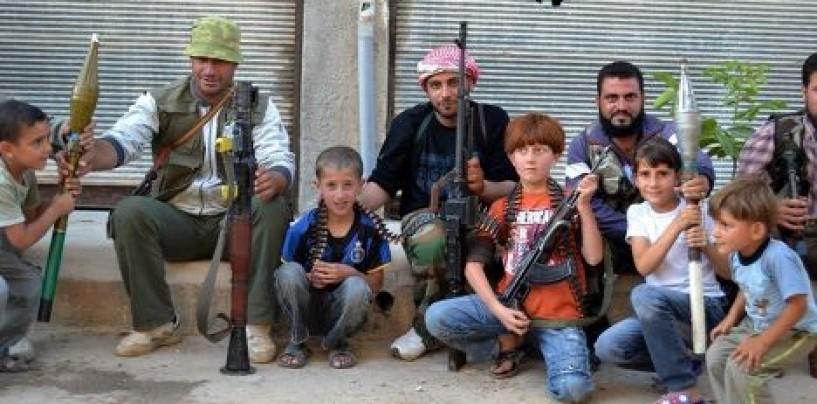 Школа для юных  террористов.