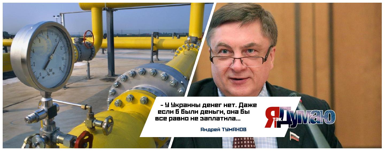 «Газпром» VS «Нефтогаз». Газ нужен, а грошей нема? — Андрей Туманов