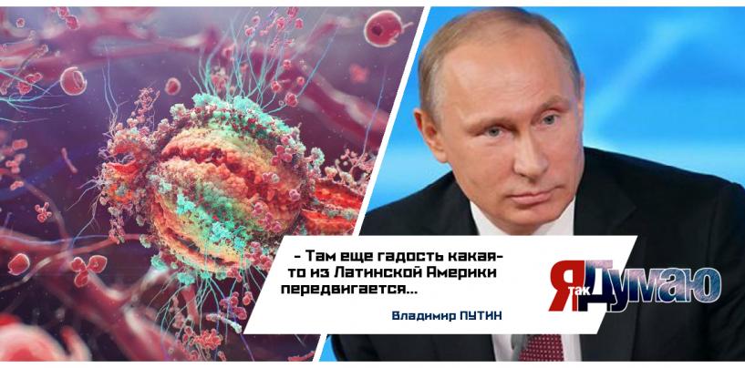 Нам грозит новый вирус Зика? Успокаивает только Путин