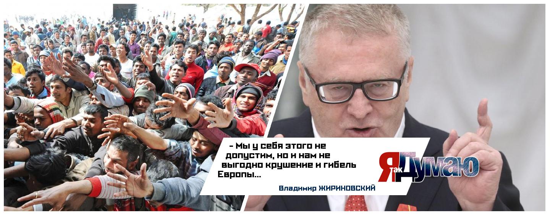Путин усилит контроль за мигрантами. Жириновский — «Мы не допустим такой ситуации, как в Европе»