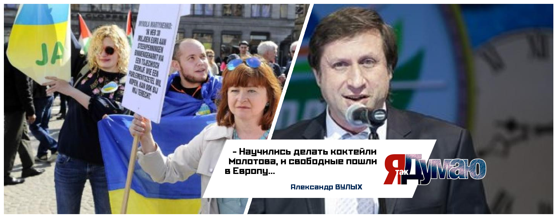 Крайнее удивление Порошенко — Нидерланды сказали Украине «нет».  Александр Вулых о киевских миражах.