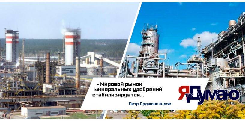 Петр Орджоникидзе: мировой рынок минеральных удобрений стабилизируется