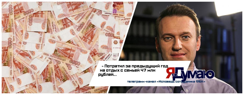 Отпуск ценой в десять квартир: Навальный ни в чем себе не отказывает