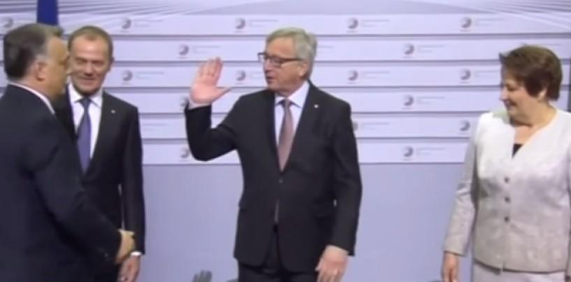 Европощечина на саммите в Риге.  Бьет, значит, любит! (видео)