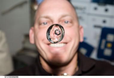 Удивительный эксперимент на борту МКС