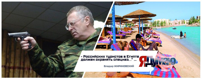 Туристов в Египте должен охранять русский спецназ! — Владимир Жириновский