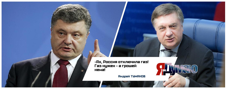 Газ нужен — а грошей нема! Депутат госдумы Туманов о новой газовой войне