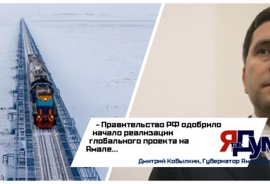 Первый железнодорожный концессионный проект России начнут реализовывать на Ямале