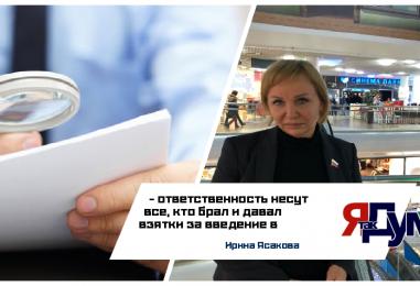 Усилить борьбу с коррупцией в Вологодской области призвала депутат Ирина Ясакова