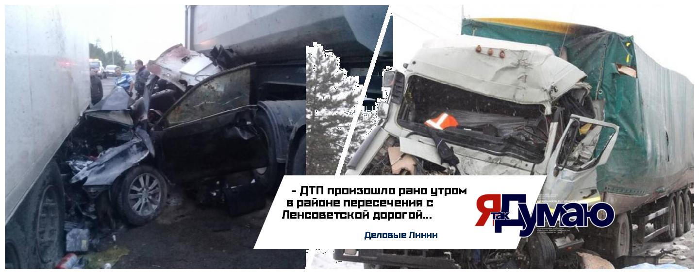 Оперативная работа ДПС разблокировала движение на Московском шоссе