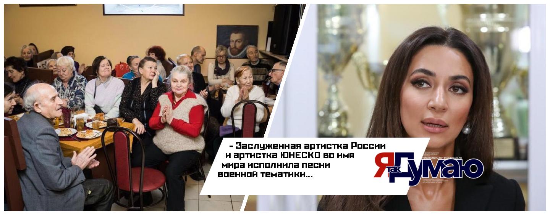 Ветераны с восторгом послушали выступление певицы Зары в рамках мероприятия Putin Team